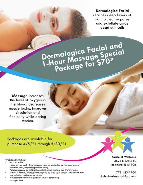 facial massage combo special 4 2021 NW Quartely sm